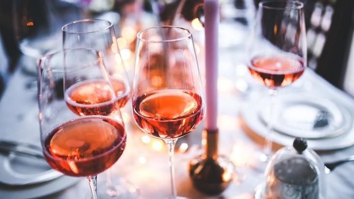 vinho rose